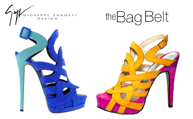 Giuseppe Zanotti por The Bag Belt