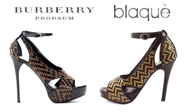 Burberry Prorsum por Blaquè